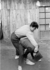 Picture of my Dad practicing Kung Fu