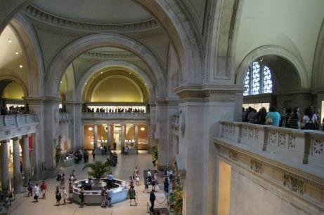 The Line for the Alexander McQueen Exhibit