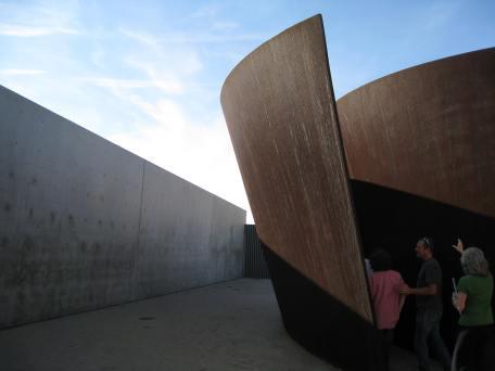 Richard Serra Torqued Spiral Sculpture
