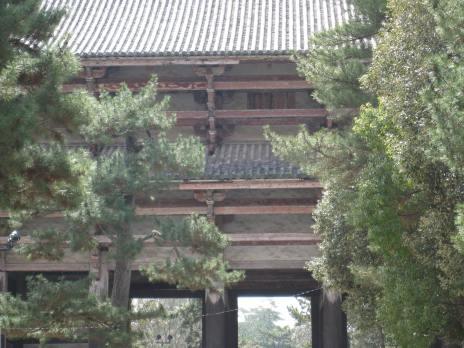 Nara Tōdai-ji, temple gate