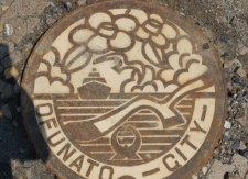 Manhole Cover - Ofunato City