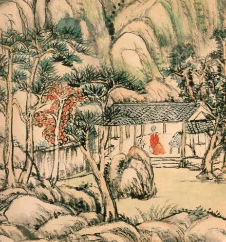 Autumn Studio by Wang Yuanqi from The Metropolitan Museum