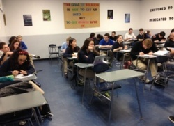 St. Viator High School Classroom