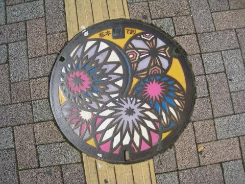 Colorful Manhole Cover