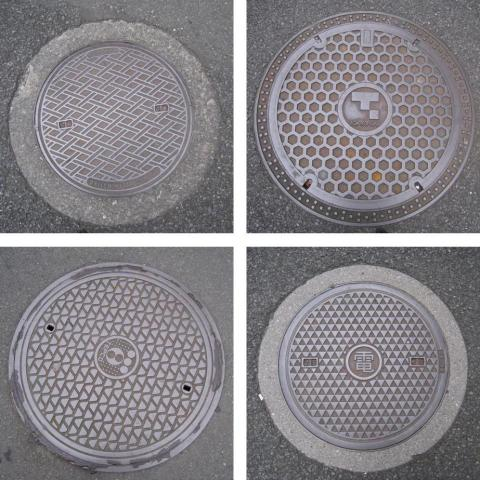 Manhole Covers at Waseda University