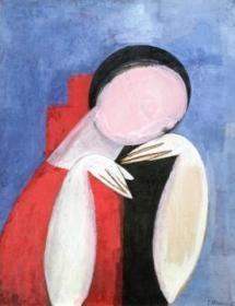 Painting by Constantin Brâncuși