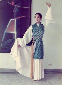 Qiu Jiang standing