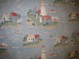 Wallpaper at the Old Post Office Restaurant