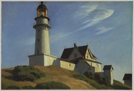 The Lighthouse at Two Lights, Edward Hopper, 1929