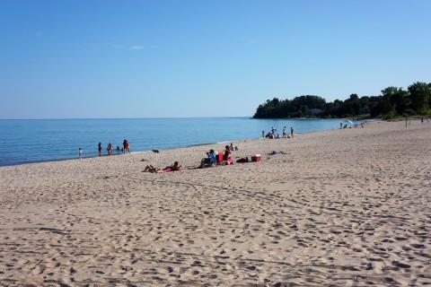 Beach in Door County